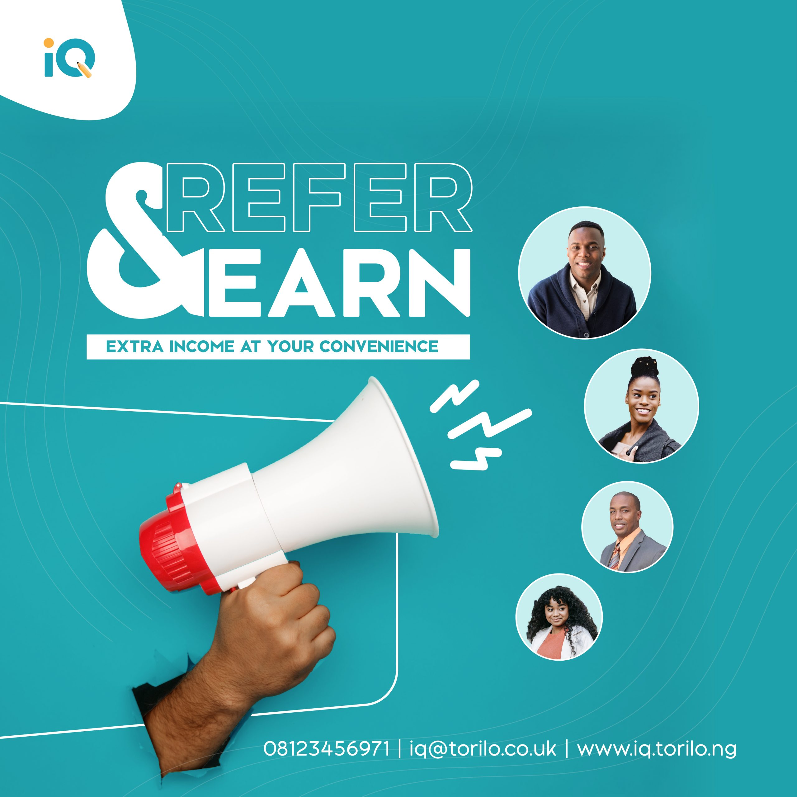 Refer and Earn Flyer